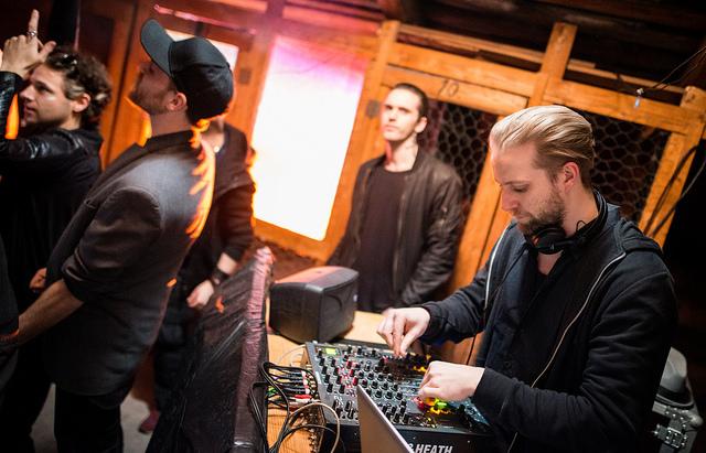 The Suicide Club impidió que la fiesta parase durante todo el vivo. Foto de Tuomas Puikkonen.