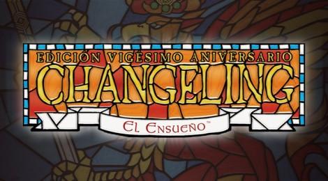 Hoja de personaje de Changeling: El Ensueño 20º Aniversario