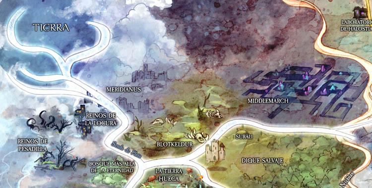 Mapa del Ensueño